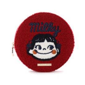 サマンサタバサプチチョイス ペコ&ポココレクション 刺繍ポーチ(レッド)