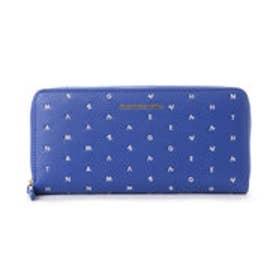 サマンサベガ ラグーン ラウンド財布(ブルー)