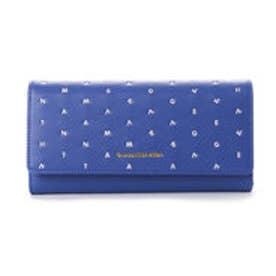 サマンサベガ ラグーン かぶせ財布(ブルー)