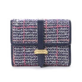 サマンサタバサプチチョイス ベルトシリーズ ツイードバージョン 折財布【3年保証対象品】(ブラック)