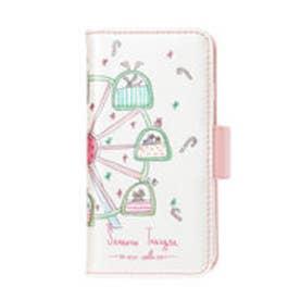 サマンサタバサプチチョイス Lara Collection ヘルシンキシリーズ BOOK型iPhoneケース(ホワイト)