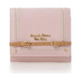 サマンサタバサプチチョイス ベルトデザインシリーズ 折財布(ピンク)