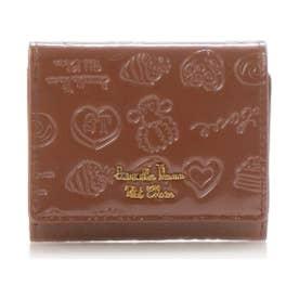 サマンサタバサプチチョイス Lara Collection ベルギーシリーズ エナメル ミニ財布(ブラウン)