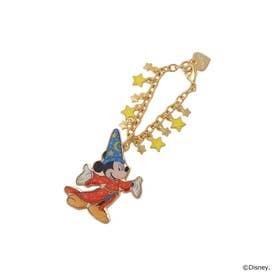サマンサタバサプチチョイス 【D23】ファンタジアミッキーマウス バッグチャーム ゴールド