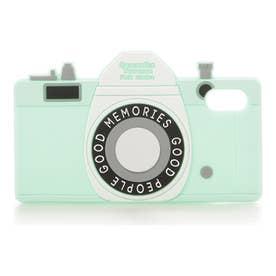 サマンサタバサプチチョイス シリコンケース(カメラ)iPhoneX(グリーン)