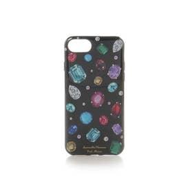 サマンサタバサプチチョイス ジュエルiPhoneケース 6-8(ブラック)
