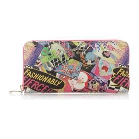 サマンサタバサプチチョイス バービーコレクション お財布シリーズ ラウンドジップ長財布(フューシャピンク)