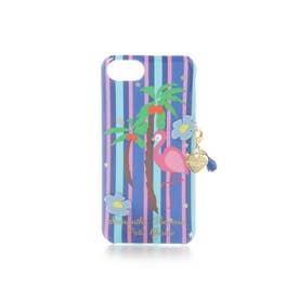 サマンサタバサプチチョイス フラミンゴiPhoneケース 6-8(ネイビー)