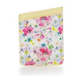 サマンサタバサプチチョイス 花柄カードポケット(イエロー)