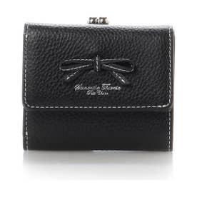 サマンサタバサプチチョイス レディブルックリン ミニ財布(ブラック)