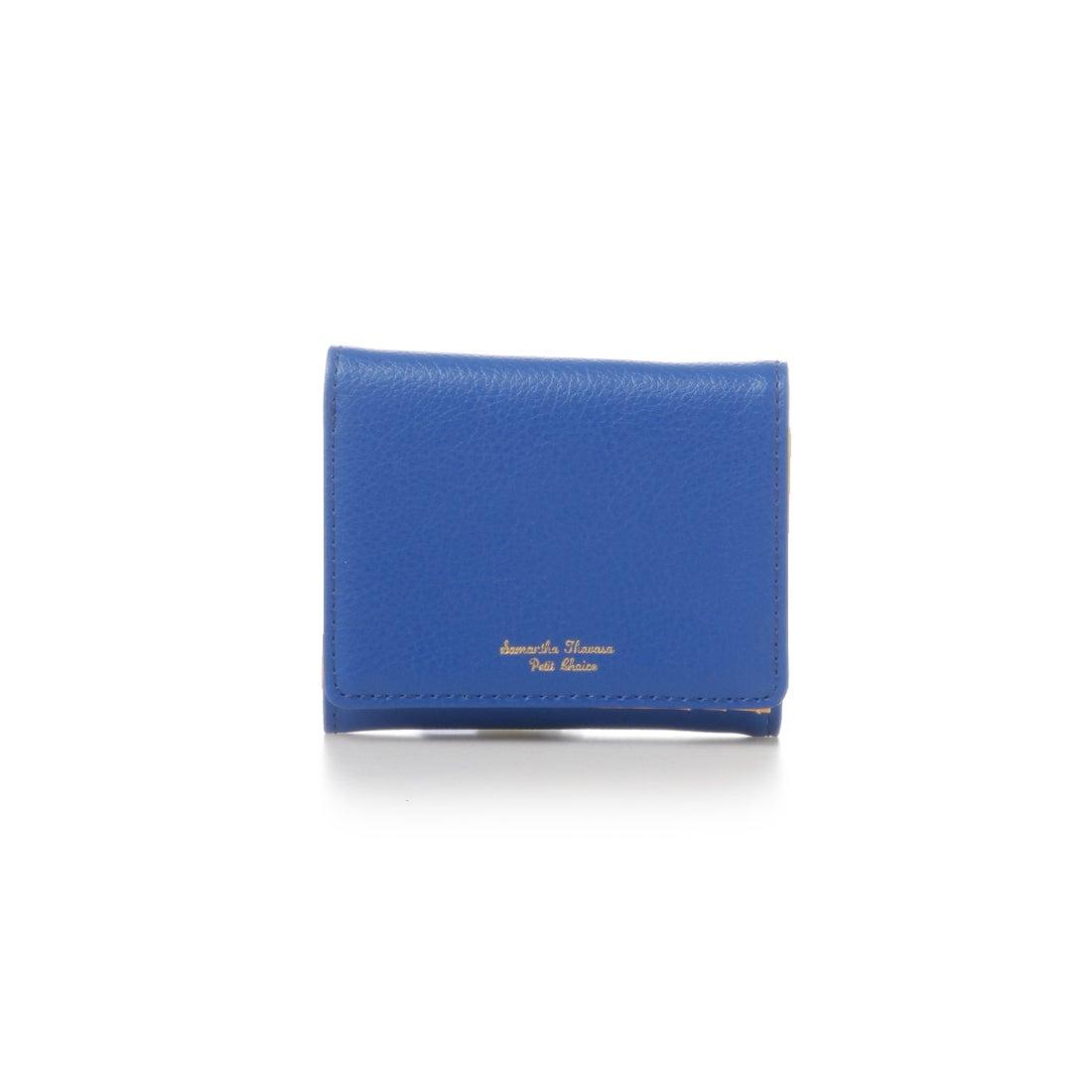 折財布 ミニ財布 サマンサタバサプチチョイス ブルー シュペール