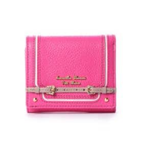サマンサタバサプチチョイス ベルトモチーフシリーズ(折財布) フューシャピンク