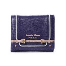 サマンサタバサプチチョイス ベルトモチーフシリーズ(折財布) ネイビー