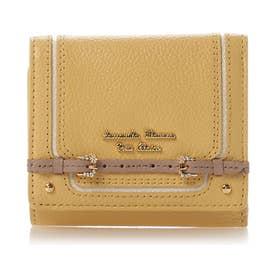 サマンサタバサプチチョイス ベルトモチーフシリーズ(折財布) イエロー