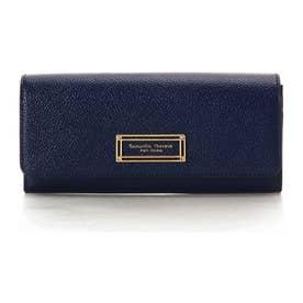 サマンサタバサプチチョイス ゴールドフレームシリーズ(長財布) ネイビー