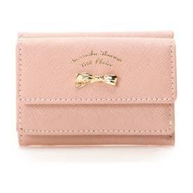 サマンサタバサプチチョイス アシンメトリーリボンシリーズ(折財布)(ピンク)