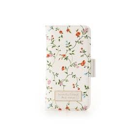 サマンサタバサプチチョイス フラワープリントシリーズ(iphone6-8ケース) ホワイト