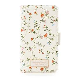 サマンサタバサプチチョイス フラワープリントシリーズ(iphone6+-8+ケース) ホワイト