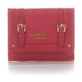 サマンサタバサプチチョイス ディーブルーメ折財布 レッド