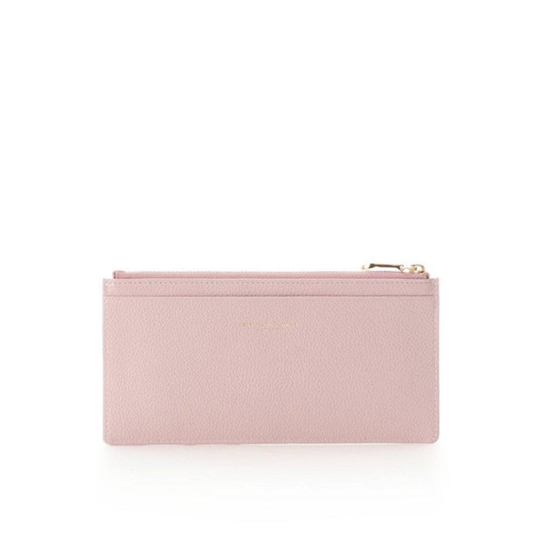 サマンサタバサプチチョイス Samantha Thavasa Petit Choice シンプルレザー 薄型カードケース (ピンク)