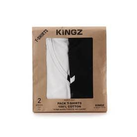 キングズ バイ サマンサタバサ KZパックTシャツ ホワイト