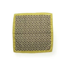 サマンサタバサ モノグラム スカーフ(ブラウン)