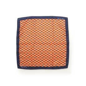 サマンサタバサ モノグラム スカーフ(オレンジ)