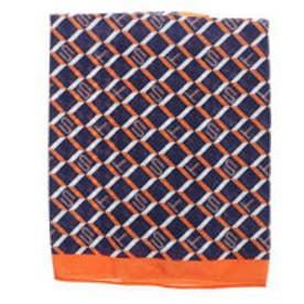 サマンサタバサ モノグラム スカーフ(ネイビー)