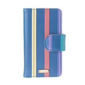 レディアゼル オリジナルプリントiPhone7ケース(紺系ボーダー、ストライプ)