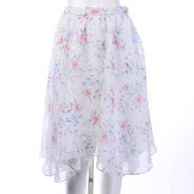 ウィルセレクション Tiaraフルールスカート(ピンク)
