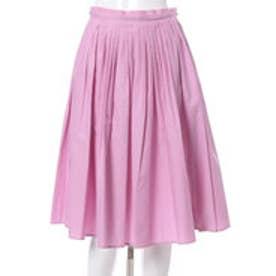 アンドクチュール タックギャザースカート(ピンク)