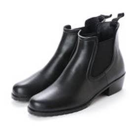 ヒップス HIPS サイドゴアレインショートブーツ (ブラック)