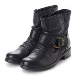 オールブラック ALL BLACK リングバックルブーツ (ブラック)