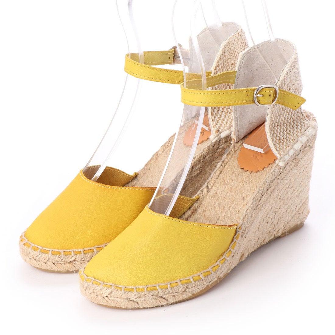 ロコンド 靴とファッションの通販サイトノイエ マルシェ neue marche ウェッジシューズ(イエロー)