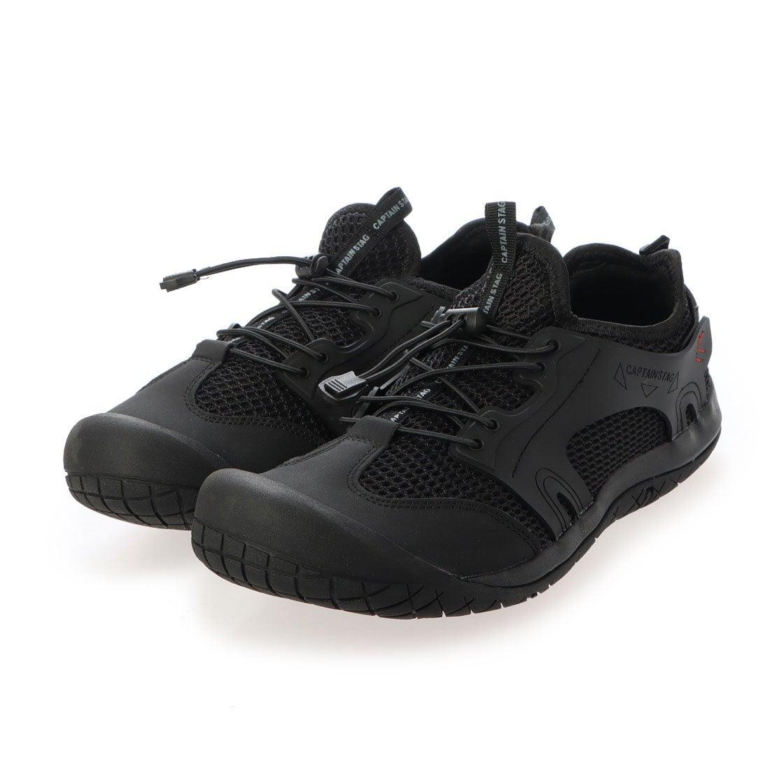 ロコンド 靴とファッションの通販サイトキャプテンスタッグ CAPTAIN STAG メンズ アウトドアスタイルスニーカー (BLACK)