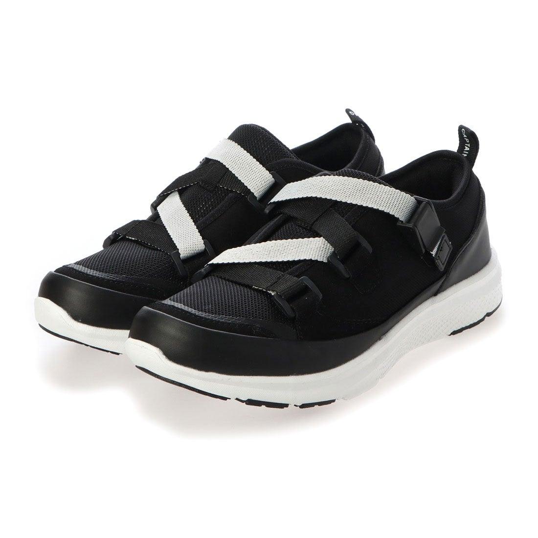 ロコンド 靴とファッションの通販サイトキャプテンスタッグ CAPTAIN STAG 配色アウトドアスタイルスニーカー (BLK)