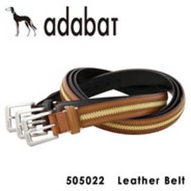 【SAC'S BAR】アダバット adabat ベルト 505022 【14】ブラウン