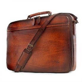 【SAC'S BAR】青木鞄 ブリーフケース 5220 50 ブラウン ブルー