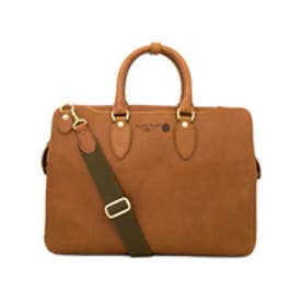 【SAC'S BAR】青木鞄 ブリーフケース 4136 【52】キャメル