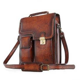 【SAC'S BAR】青木鞄 縦型ショルダーバッグ 5221 50 ブラウン 他