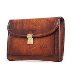 【SAC'S BAR】青木鞄 セカンドバッグ 5217 50 ブラウン ブルー