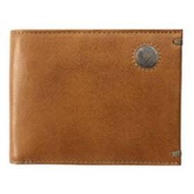 【SAC'S BAR】青木鞄 二つ折り財布 2016 【52】キャメル