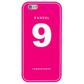 【SAC'S BAR】BANDEL バンデル ナンバー ケース iPhone6/ピンク