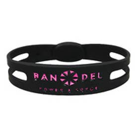 【SAC'S BAR】バンデル BANDEL ブレスレット メタリック ブラック×ピンク