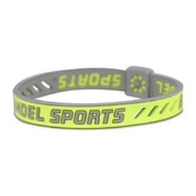 【SAC'S BAR】バンデル BANDEL SPORTS スポーツ ストリング ブレスレット イエロー×グレー