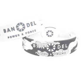 【SAC'S BAR】バンデル BANDEL ブレスレット リバーシブル カモフラージュ ホワイト×カモフラージュ
