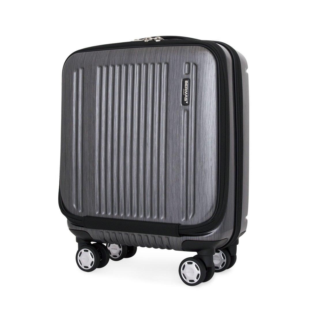 【SAC'S BAR】バーマス BERMAS スーツケース 60255 38cm プレステージ2 【10】ブラック メンズ