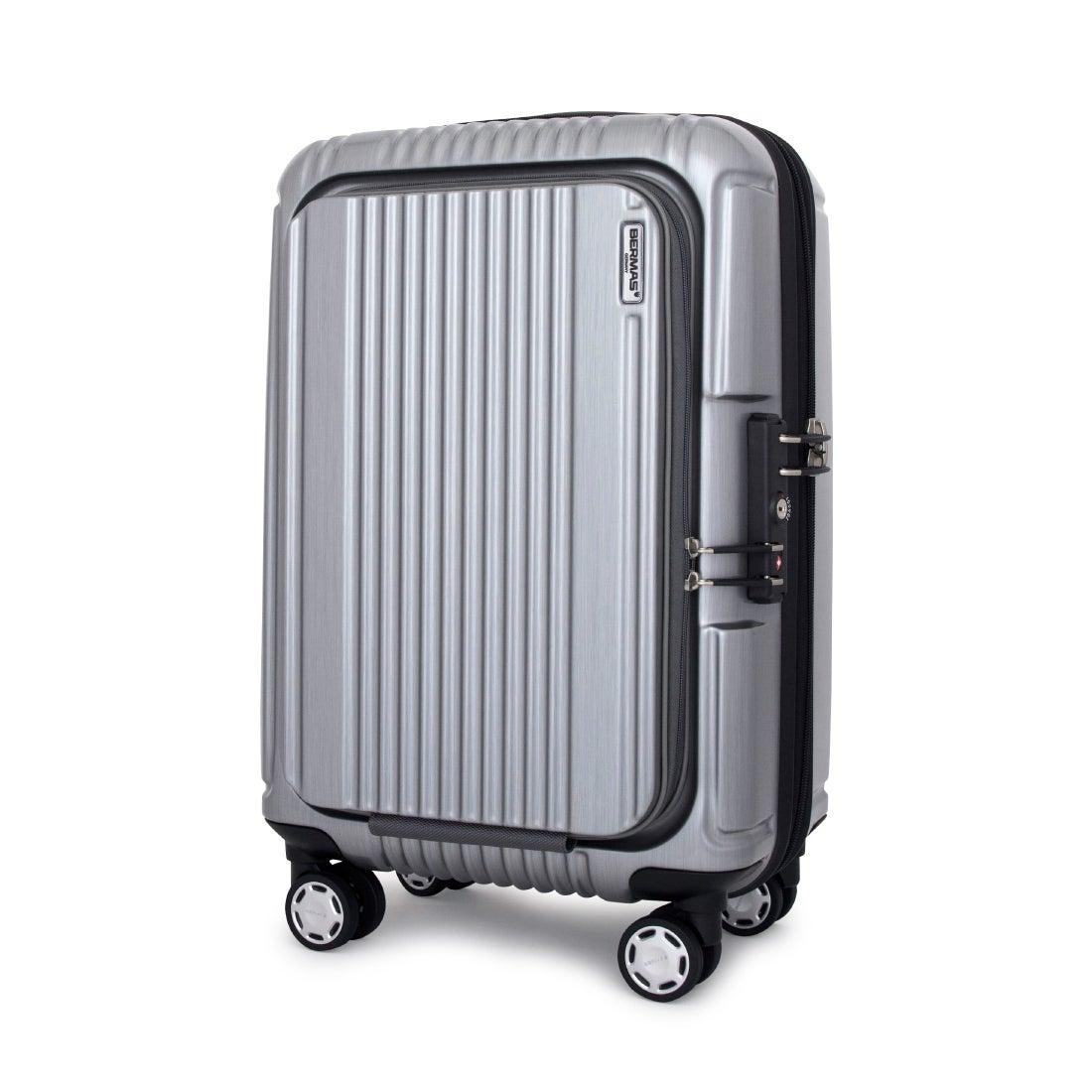 【SAC'S BAR】バーマス BERMAS スーツケース 60261 49cm プレステージ2 【22】シルバー メンズ