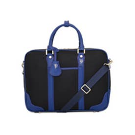 【SAC'S BAR】フルボデザイン Furbo design ブリーフケース FRB005Z ミラノ ブラック×ブルー