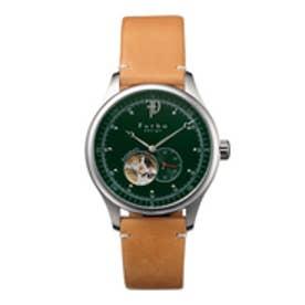 【SAC'S BAR】フルボデザイン Furbo design 腕時計 F5030 グリーン×ライトブラウン
